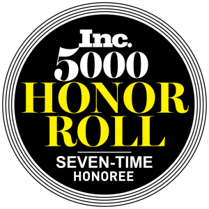 Inc. 5000 Honor Roll 2019 - Seven Year Honoree