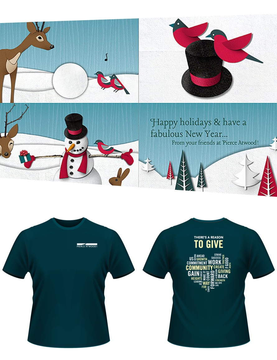 Animated Christmas Cards & Tshirt