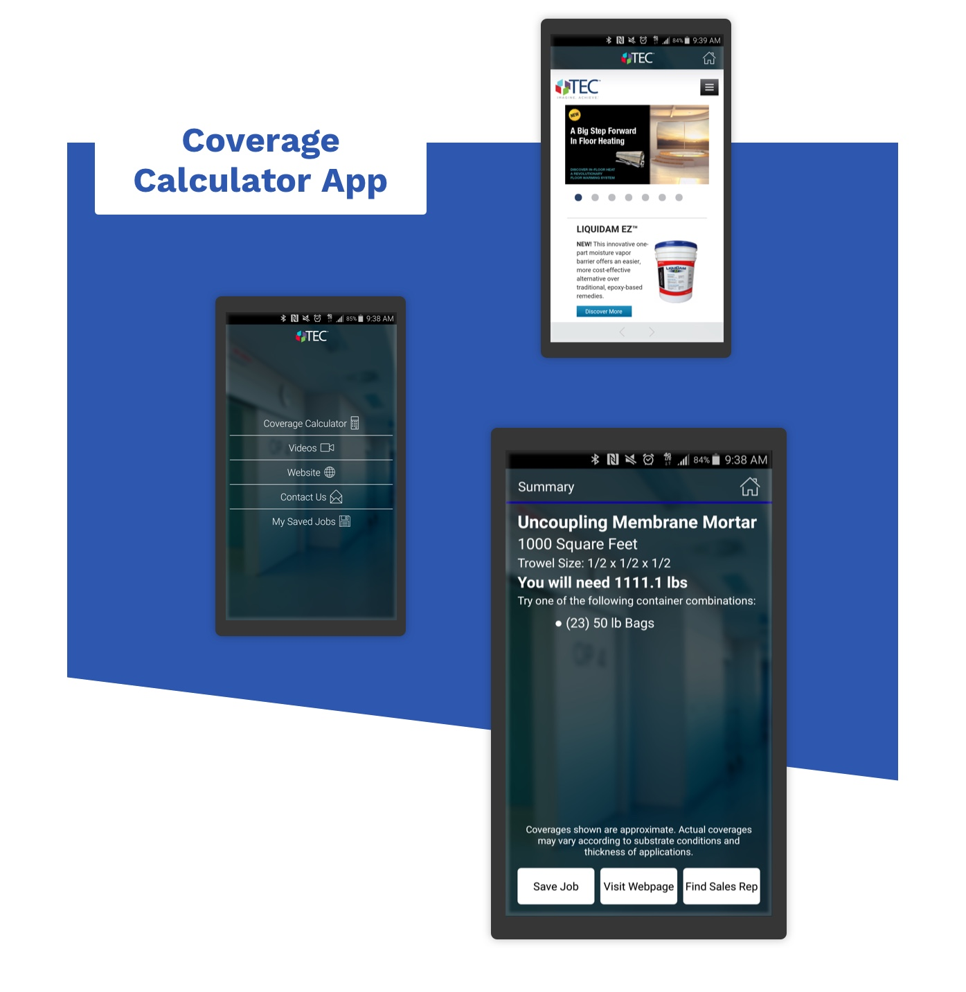 H.B. Fuller coverage calculator app.