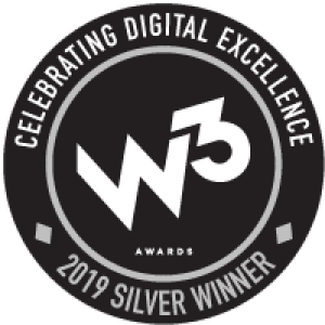 2019 W3 Awards - Silver Logo