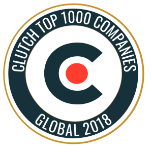 Clutch Top 1000 Companies Global 2018
