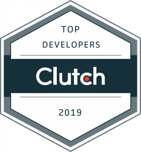 Clutch.co Award Badge: Top Developers in the United States 2019