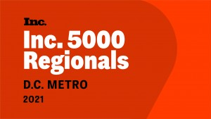 Inc. 5000 Regionals 2021 Badge
