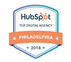 Badge for HubSpot's 2018 Top Digital Agency in Philadelphia